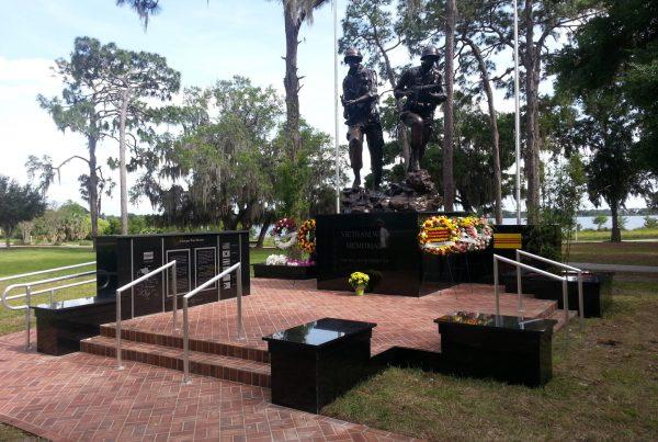 Baldwin Park Vietnam War Memorial Fla Beau Rowland
