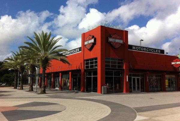 Harley Davidson Downtown Disney Rowland Construction Orlando Fla